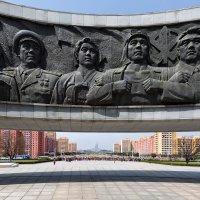 Монумент основания Трудовой партии Кореи :: slavado