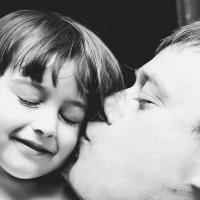 Папа и дочь :: Александра Уварова