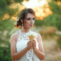На золотом закате :: Любовь Дашевская