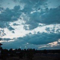 Закат у мельницы :: Андрей Поспелов