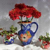 Кувшин с цветами :: Mariya laimite