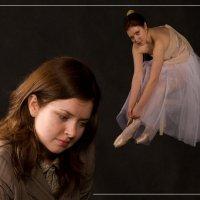 Детские мечты - балерина. :: Igor Veter