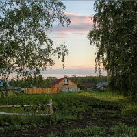 Размеренность деревенской жизни :: Олег Сонин