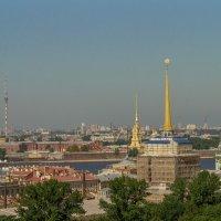 Вид с колонады Исакиевского собора. :: Сергей Исаенко