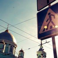 К храму :: Елизавета Овсянникова
