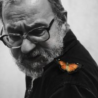 Old man and butterfly :: Наталья Наумова