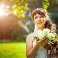 счастливая невеста :: Сергей Пилтник