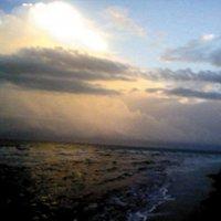 закат над Атлантикой :: Юрий Соколов
