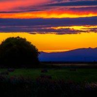 Пылающий закат :: Мария Егорычева