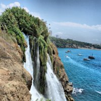 Водопад Нижний Дуден. Анталия. Турция :: Елена Богос
