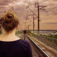 в след уходящему поезду... :: Анастасия Шаехова
