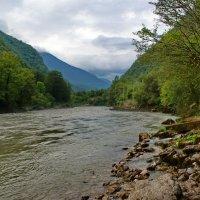 Горная река. :: Юрий Шувалов