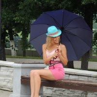 Модель с зонтиком :: Николай ntv