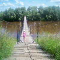 река Омь,Сибирь :: галина лаврова