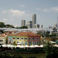 Сингапур. Набережная :: Елена Мищенко