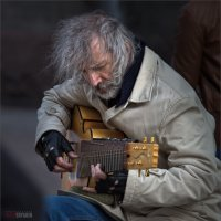 Гитарист с Арбата :: Виктор Перякин