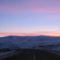 Зимний закат :: Ольга Иргит