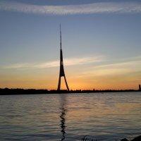 Телевизионная башня Рига :: Олеся Лав