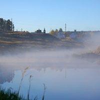 Туман над рекой :: Денис Матвеев