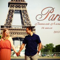 Love Story Париж :: Максим напалков