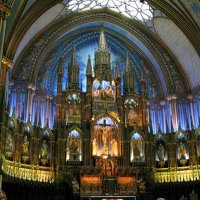 Внутри Notre-Dame Basiliсa в Монреале :: Яков Геллер