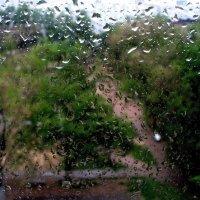 Двор под дождем :: Viktor Eremenko