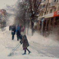Уборка снега. :: Эника.