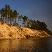 Закат над Припятью :: Александр Сапунов