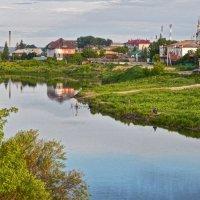 Вид с моста! ... (в утренний час) :: Елена Хайдукова  ( Elena Fly )