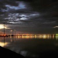 Ночь... Межводное... Озеро Джарылгач... :: Сергей Леонтьев