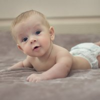Мне три месяца... :: Лилия .