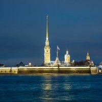 Петропавловская крепость, г. Санкт-Петербург :: Максим Хрусталев