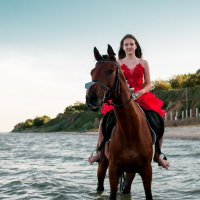 девочка на коне :: Анна Лищук