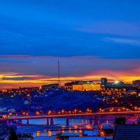Уфа мосты через Белую :: Константин Вавшко