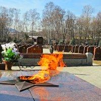 Вечный огонь мемориала. :: ИРЭН@ .
