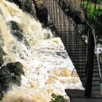 Карелия. Водопад Ахвенкоски :: максим лыков