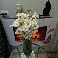 Букет ромашек. :: ОКСАНА ЮРЬЕВНА ШВЕЦ