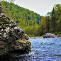 У больших камней :: Сергей Чиняев