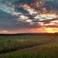 Яркие краски заката :: Лара Симонова