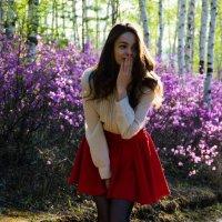 Маша в лесу :: Илья Браславец