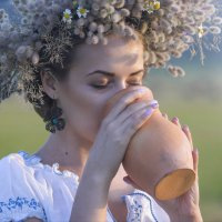 Глоток воды. :: Наталья Остапенко