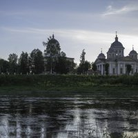 Серебристый вечер в Торжке :: Александра