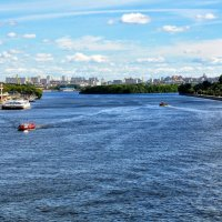 Река Москва :: Анатолий Колосов