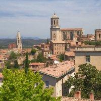 Панорамный вид города Жирона, Испания :: Елена Елена