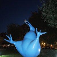 Голубое чудо ... :: Лариса Корж