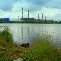 Индустриальный пейзаж :: Нэля Лысенко