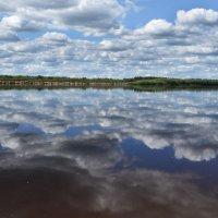 В реку смотрятся облака... (река Вычегда) :: Инна *