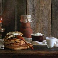 Деревенский завтрак с блинами :: Ольга