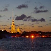 Петропавловская крепость в белую ночь :: Андрей Игоревич