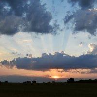 «Знаешь… когда станет очень грустно, хорошо поглядеть, как заходит солнце…» :: Светлана